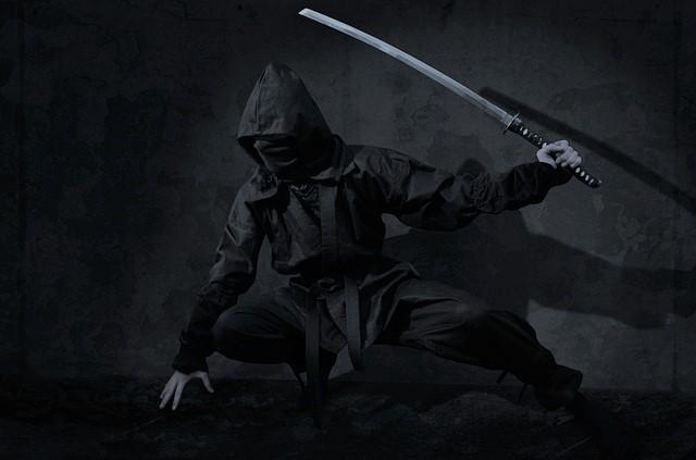 許可なく刀剣類を所有して銃刀法違反してる人